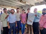 Marine conservation team visits FORV Sagar Sampada campaign against plastic pollution